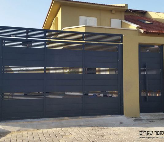 בונים בית פרטי - כדי שתחשבו על עיצוב שער החנייה